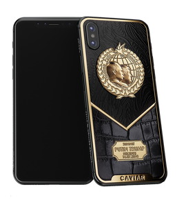 Caviar iPhone X Putin-Trump Peacemakers