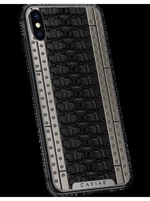 Custom iPhone X with titanium case