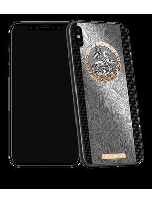 premium smartphone in titanium designer case