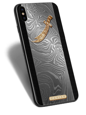 VIP iPhone X Zulficar in a titanium designer case