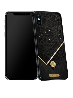 iPhone X with Capricorn Horoscope Symbol