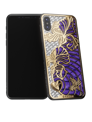 Caviar iPhone X Love Iris