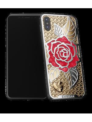Caviar iPhone X Love Rose