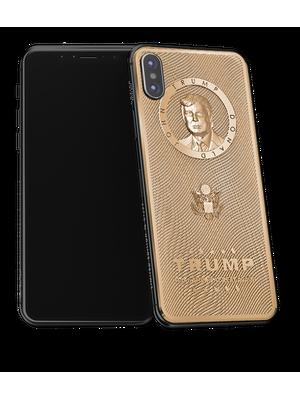 Donald Trump golden iPhone