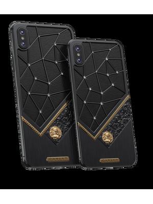 iPhone Xs with Virgo Horoscope Symbol
