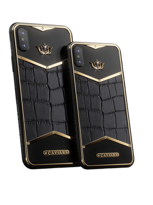 Caviar iPhone Alligatore Diamonds X-Edition