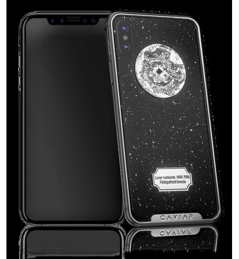 Caviar iPhone X Space Moon