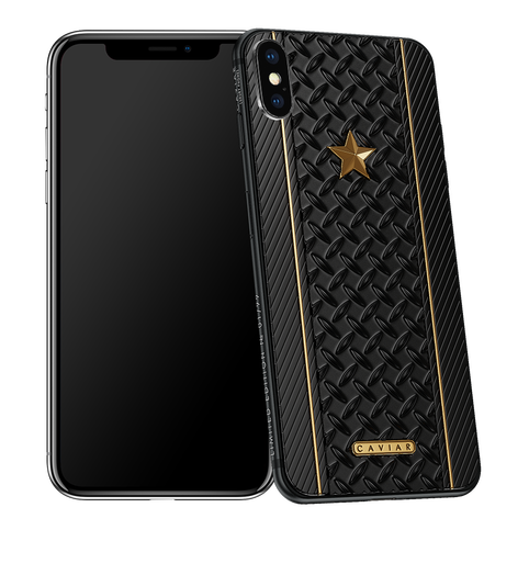 Caviar iPhone X Titanium Submarine