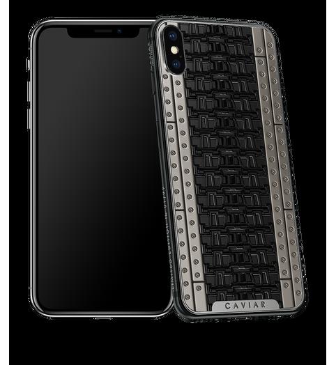 Caviar iPhone X Titanium Tank