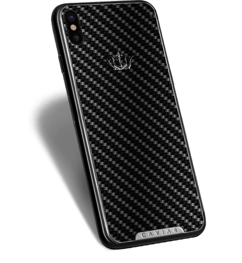 Carbon fiber iPhone X