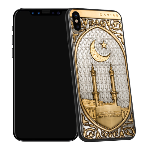 Caviar iPhone X Mekka Gold