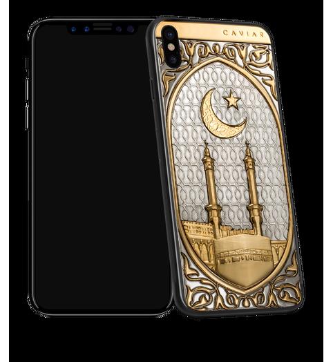 Caviar iPhone X Mekka Gold
