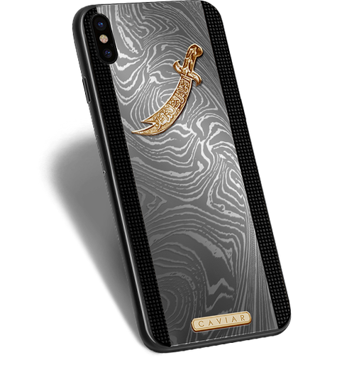 VIP iPhone X Zulficar in a titanium designer case