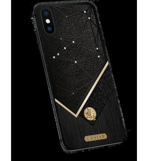 iPhone X with Capricorn Zodiac Sign