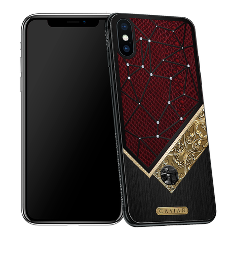 iPhone X with Sagittarius Horoscope Symbol