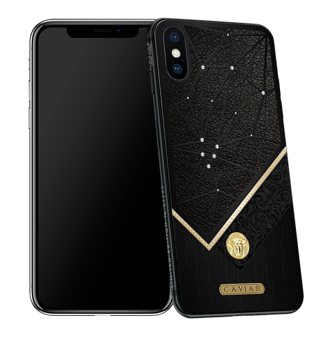 Zodiac iPhone X with Taurus Horoscope Symbol