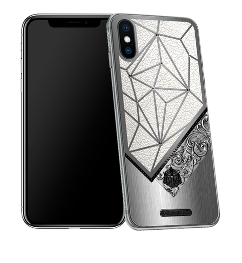 iPhone X with Libra Horoscope Symbol