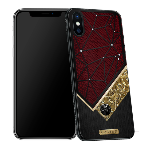 iPhone X with Aries Horoscope Symbol