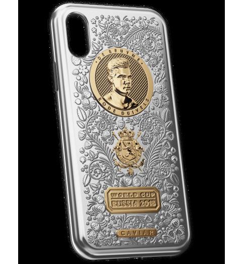 De Bruyne iPhone X case