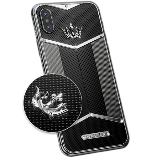 luxurious version of iPhone X Titano White Diamonds