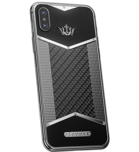 iPhone X Vertu style