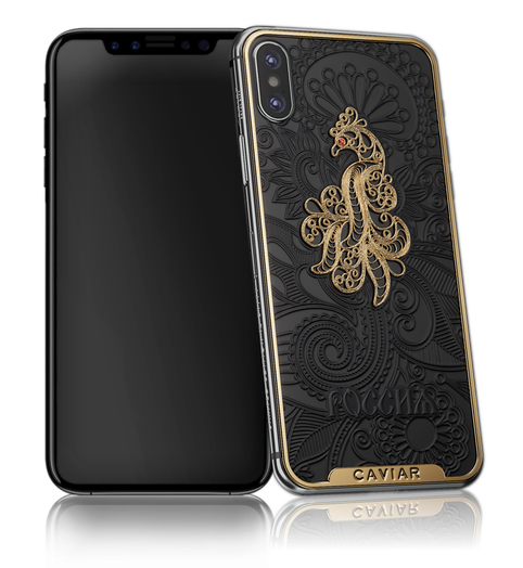Caviar iPhone X Firebird Black