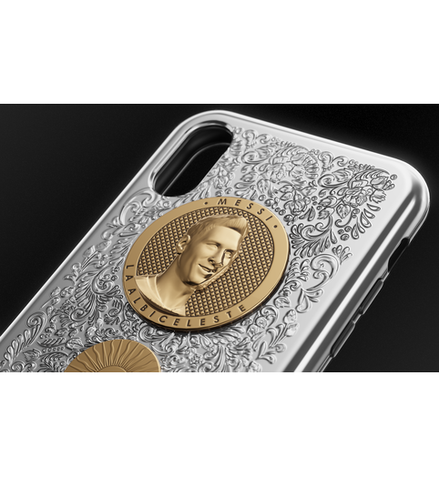 Messi iPhone X case image