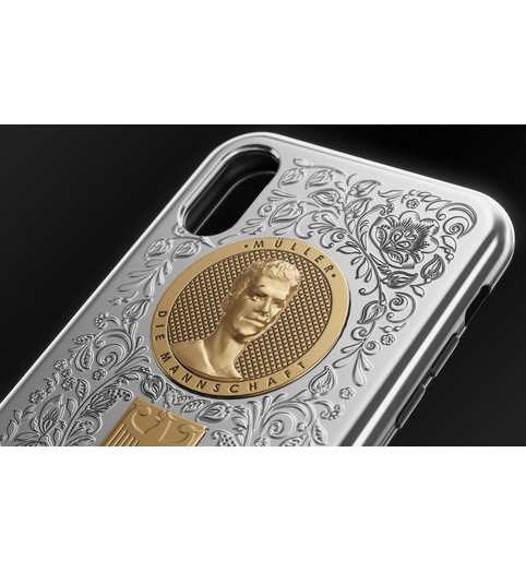 Thomas Muller iPhone X case cover