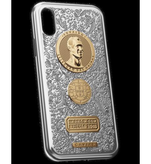 Cristiano Ronaldo iPhone X case image