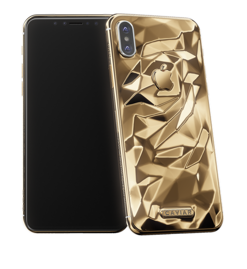 iPhone X 24k real gold
