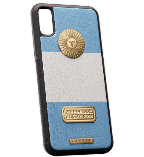iPhone X leather case devoted to Argentina National team