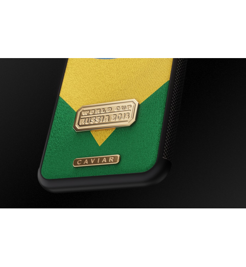 leather iPhone X Brazil case