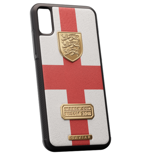 leather iPhone X case England