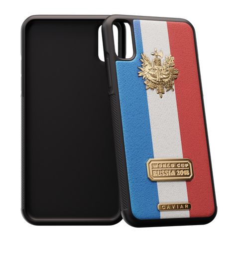 iPhone X case devoted to France
