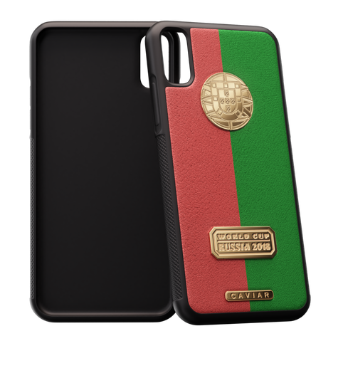 iPhone X case devoted to Portugal