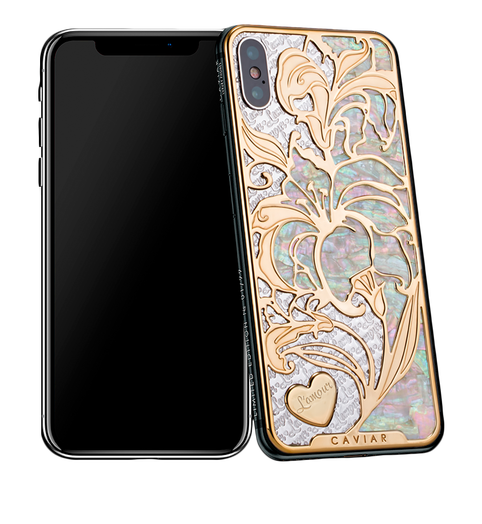 Caviar iPhone X Love Lily