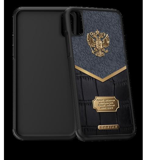 Russia Alligatore iPhone X case