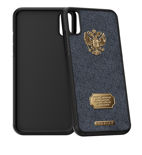 iPhone X case Russia Leather