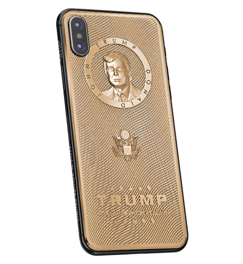 gold-plated Trump iPhone