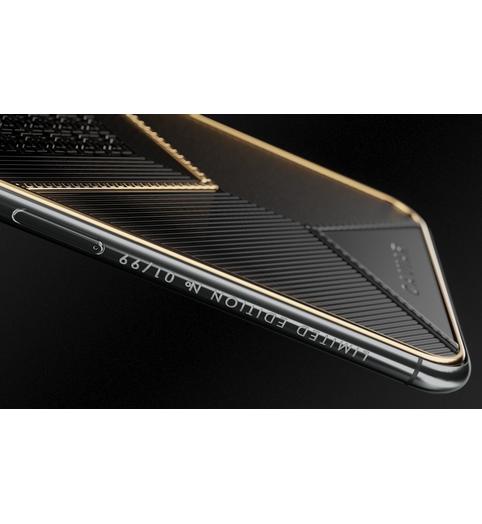iPhone X Gold Black Onyx X-Edition case
