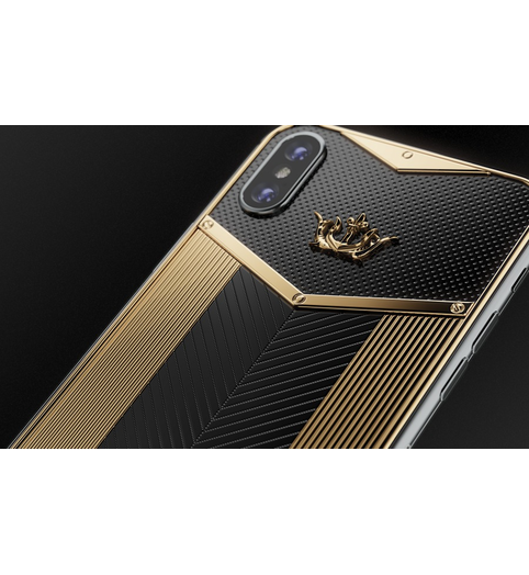 iPhone X Black Gold Sides X-Edition image