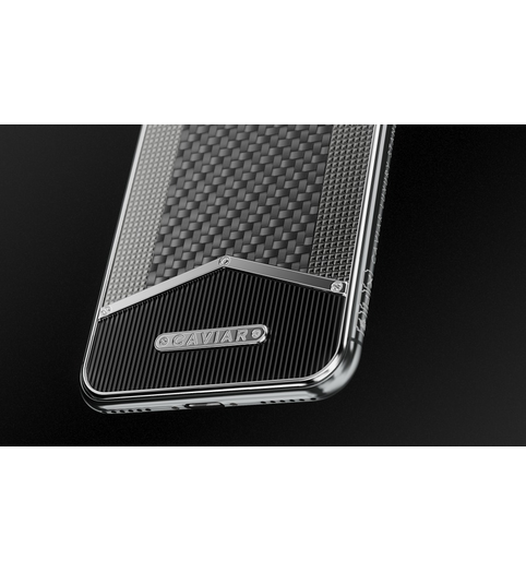 iPhone X-Edition Black White Carbon image