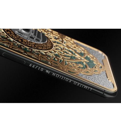 iPhone X Jerusalem Mosque cover
