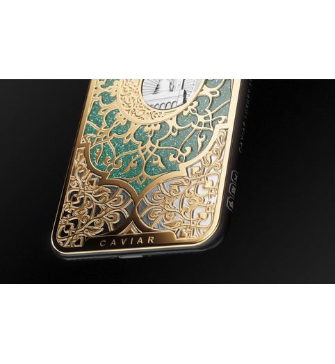 iPhone X Medina Mosque photo