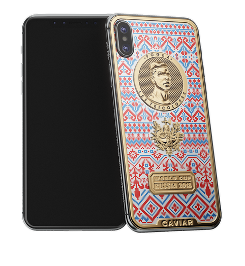 Caviar iPhone X Legends Pogba