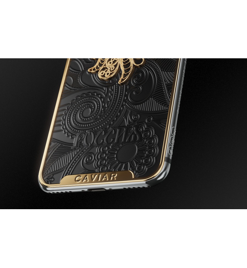 iPhone X Firebird Black case
