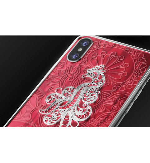 buy designer iPhone X Firebird Red