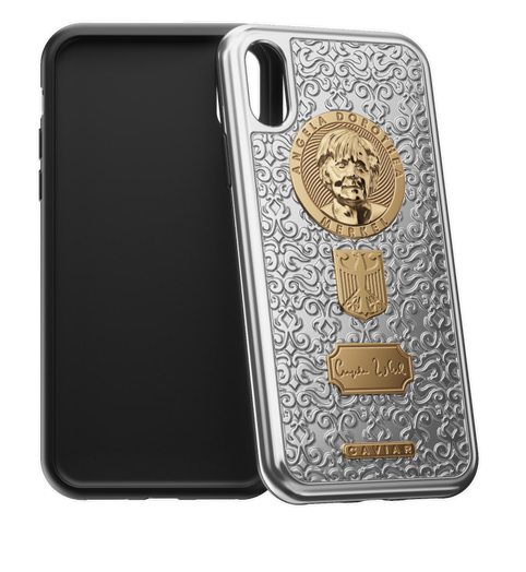 Caviar iPhone X Angela Merkel case