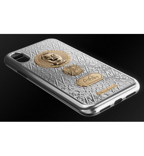 iPhone X case Nazarbayev by Caviar