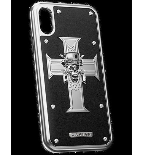 GUNS N' ROSES iPhone X titanium case